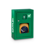 Szafka zielona AED