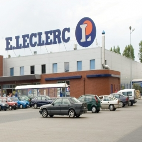 Uratowana w sklepie E.Leclerc