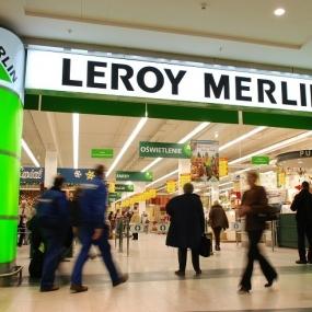 Uratowany Samaritanem w Leroy Merlin.
