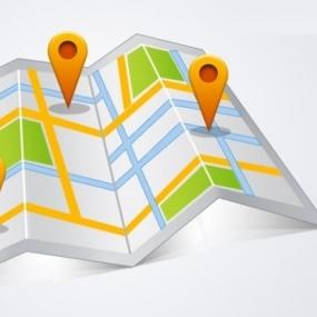 Pomorska mapa AED