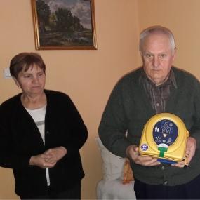 Samaritan z OSP Gaworzyce uratował pana Jana