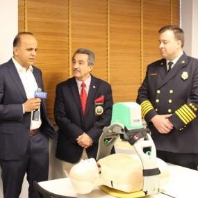 Straże Pożarne wyposażają się w automatyczną maszynę do RKO