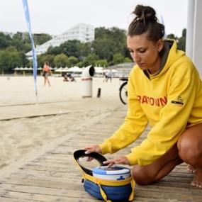 Każda strzeżona plaża w Gdyni bezpieczna dzięki Samaritanowi