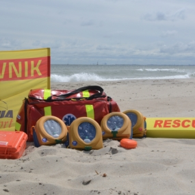 Samaritan PAD strzeże gdyńskich plaż