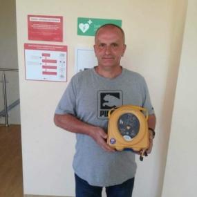 Szczawno-Zdrój wzbogaciło się o defibrylator AED